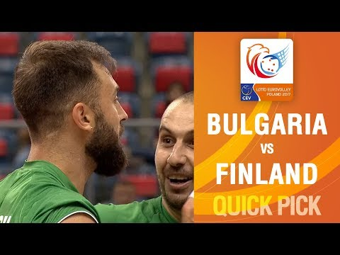 Long exchange results in Bulgarian point | Bulgaria-Finland | LOTTO EUROVOLLEY POLAND 2017