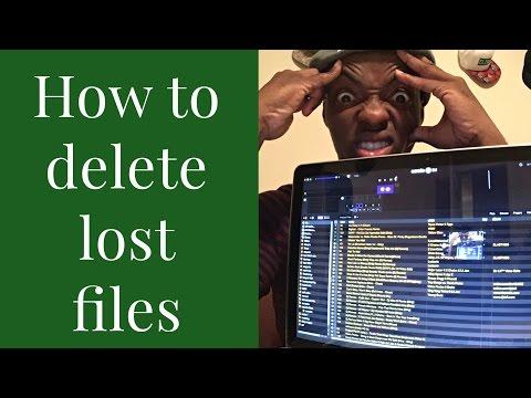 How To Delete Lost Files In Serato