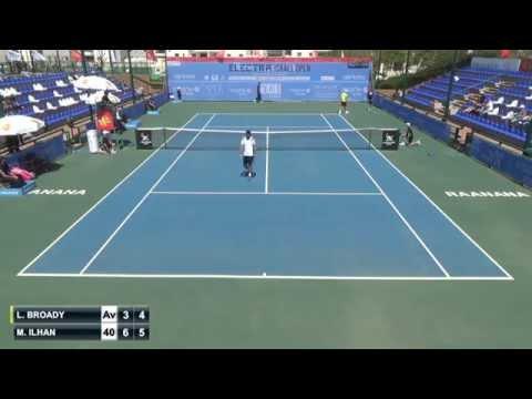 Marsel Ilhan - Liam Broady (Israel Open 2015)