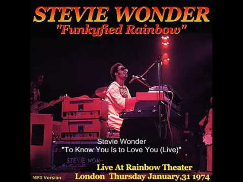 Stevie Wonder - To Know You Is To Love You (Live At The Rainbow Theater)