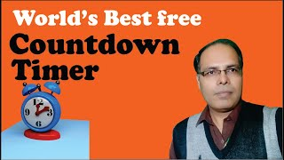 Best Free Countdown Timer in the world for PC / Windows in Urdu | Hindi