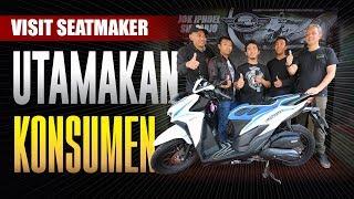 Berkunjung ke Seatmaker Iphoel Jok Motor di Sidoarjo