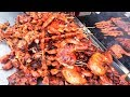 Asian Street Meat, Fast Food Street in Asia, Cambodian Street food #180