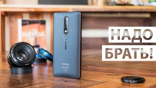 nokia 6.1 - полный видео обзор смартфона Nokia 6 2018 года