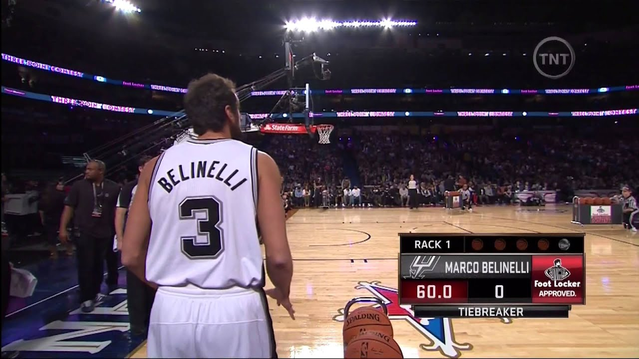 Marco Belinelli vs Bradley Beal: Final Round (NBA 3-Point Contest ...