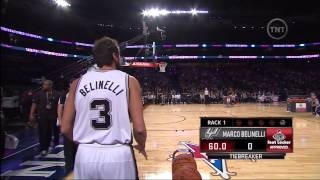 Marco Belinelli vs Bradley Beal: Final Round (NBA 3-Point Contest 2014)