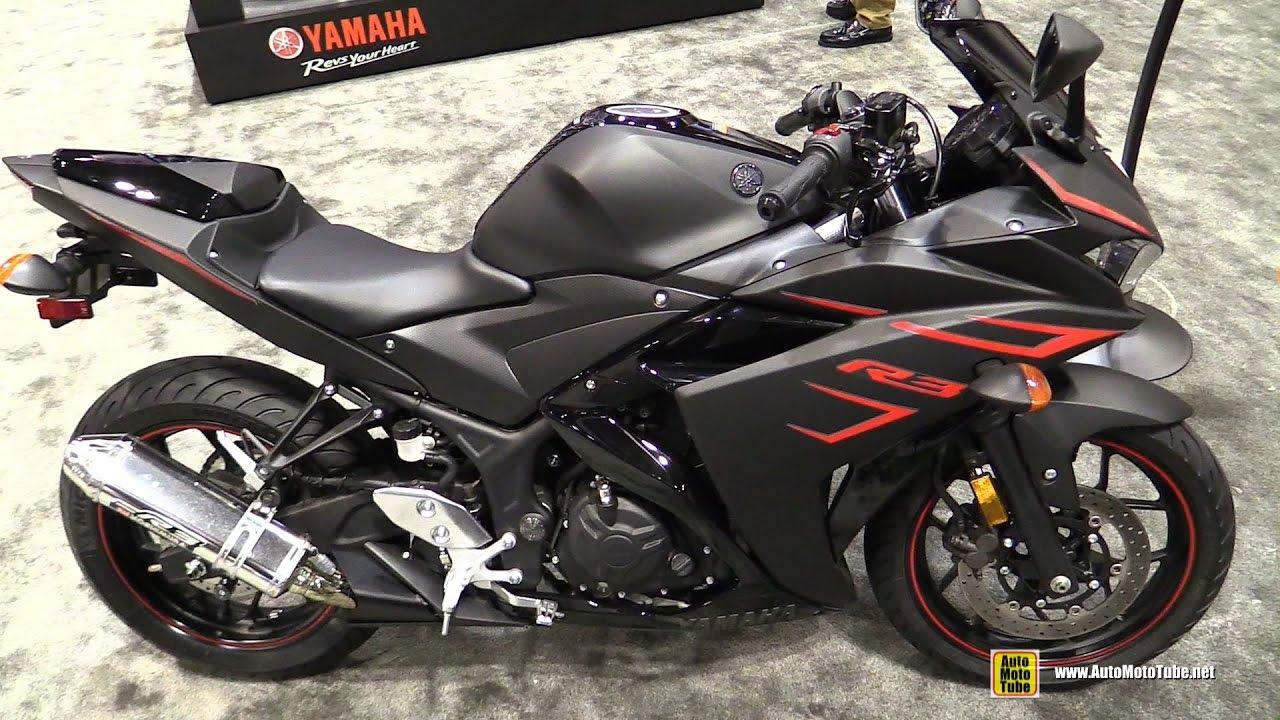 2017 Yamaha R3 - Walkaround - 2016 AIMExpo Orlando - YouTube