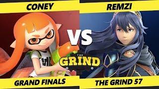 Smash Ultimate Tournament - VGBC | Coney (Inkling) Vs. Remzi [L] (Lucina) The Grind 57 SSBU GF