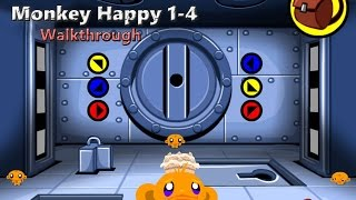 Monkey Happy: Stage 1-4 Walkthrough