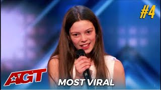 #4 Most Viral Audition: Courtney Hadwin The Shy British Girl That TRANSFORMS When The  Music Hits