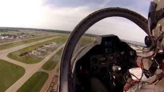 Oshkosh 2013 Warbird Show - Cockpit View
