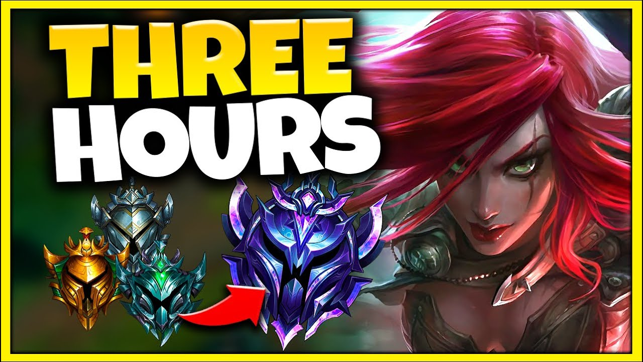 How to CLIMB to DIAMOND in 3 HOURS...with ONLY Katarina