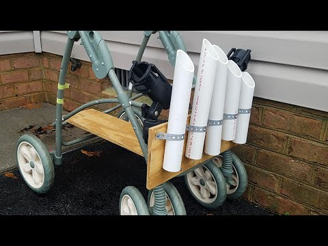 DIY FISHING CART