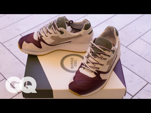 Ronnie Fieg Unveils His Newest Sneaker Masterpiece – Style and How-to | GQ