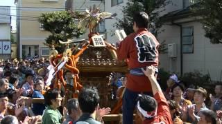 平成27年 江戸川区・北小岩北野神社例大祭 本社神輿=宮出(渡御)