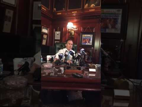 Pennsylvania Lt. Gov. Stack holds news conference about investigation