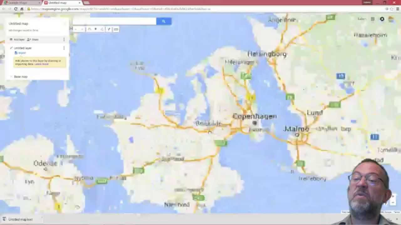 how to add kml to google maps