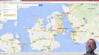Using Google Maps for geocoding addresses and creating KML Free HD Video