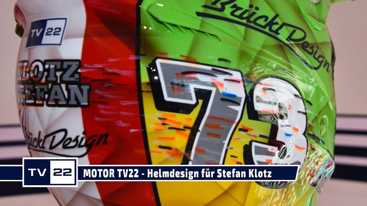 MOTOR TV22: Helmdesign by Brückl Design für Stefan Klotz