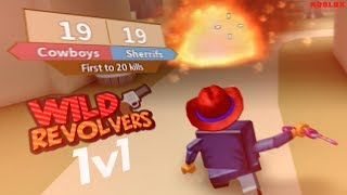 THE *DIRTIEST* 1V1 in WILD REVOLVERS! (ROBLOX)