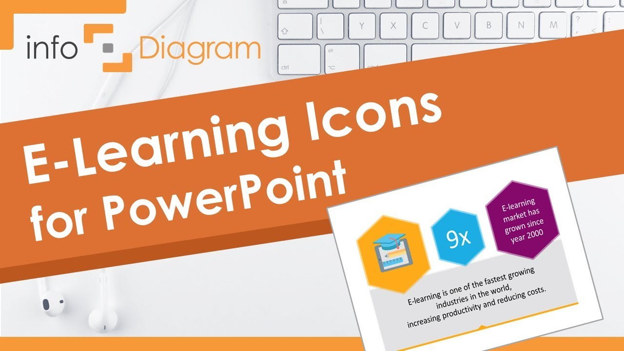 Education Powerpoint Template E Learning Presentation Icons Youtube