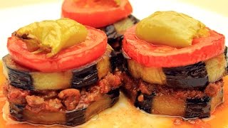 Fırında Musakka Tarifi - Kıymalı Patlıcan Oturtma Yemeği