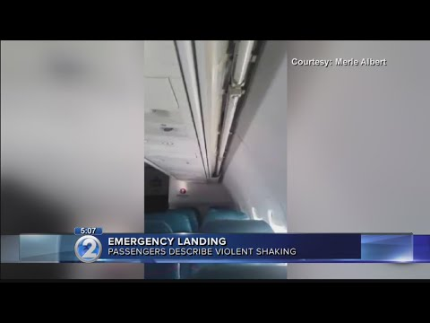 Passenger injured during violent shaking before flight's emergency landing in Honolulu