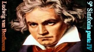 Música clássica para estudar, apreciar e relaxar - Nona sinfonia de Beethoven parte IV/IV