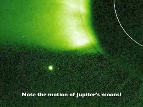 Jupiter Slips Behind The Sun