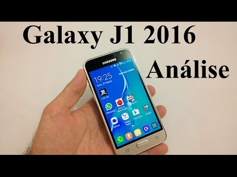 Galaxy J1 2016 Análise Completa (Review BRASIL)