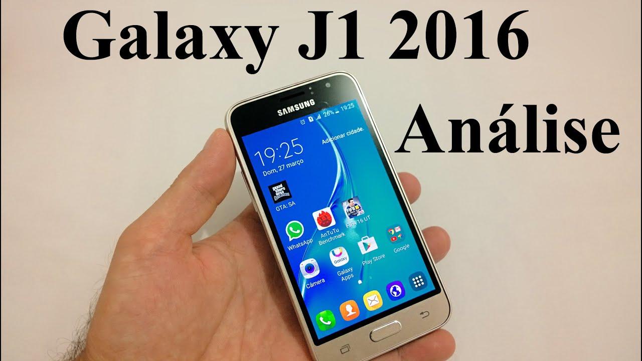 Galaxy J1 2016 An U00e1lise Completa  Review Brasil