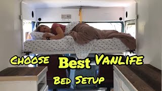 Discover Best VanLife Bed Setup | For Your Van Conversion Layout