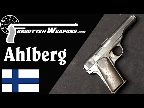 Finland's First Domestic Handgun: the Ahlberg