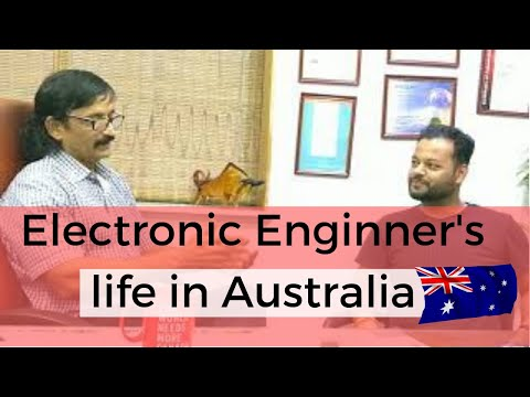 Ravi, our Australia settled electronic engineer client with Manoj Palwe!!