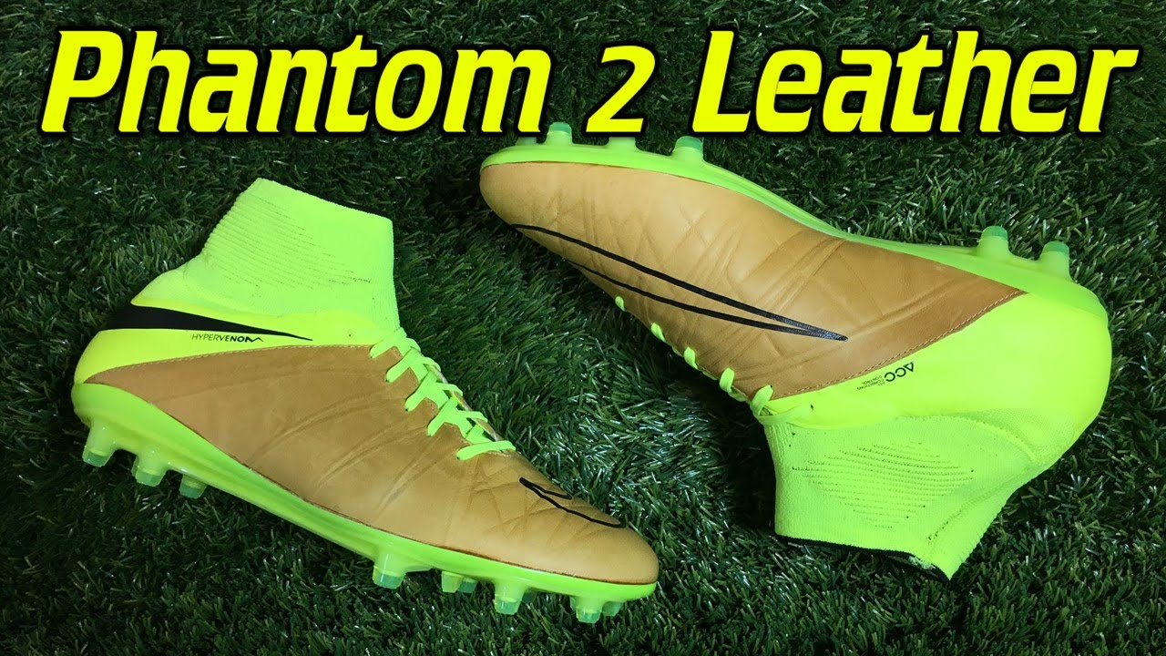 e67127146bc4 K-Leather Nike Hypervenom Phantom 2 Tech Craft Canvas Volt - Review + On  Feet