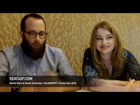Martin Gero & Sarah Schechter BLINDSPOT Interview Comic Con 2016