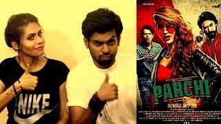 BEST INDIAN REACTION ON LATEST PAKISTANI MOVIE PARCHI   INDIAN COUPLE REACTS ON PARCHI MOVIE  PARCHI