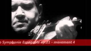 david oistrakh plays lalo symphonie espagnole op 21 movement 4 1955 jean matinon