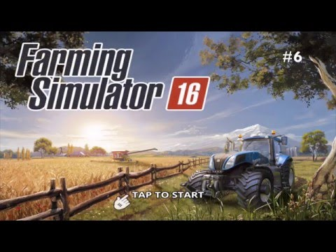 Farming Simulator 16 - #6 Brand new tractor JCB Frastrac 8310 - Gameplay