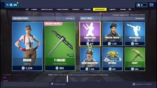 Fortnite Today's Item Shop NEW MAVEN OUTFIT!