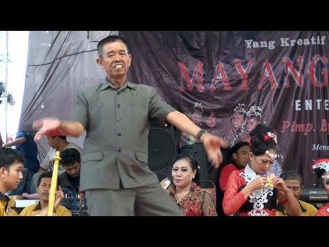 Bapak Tua Tari Sunda Jaipong Klasik BENDRONG I MAYANG CINDE