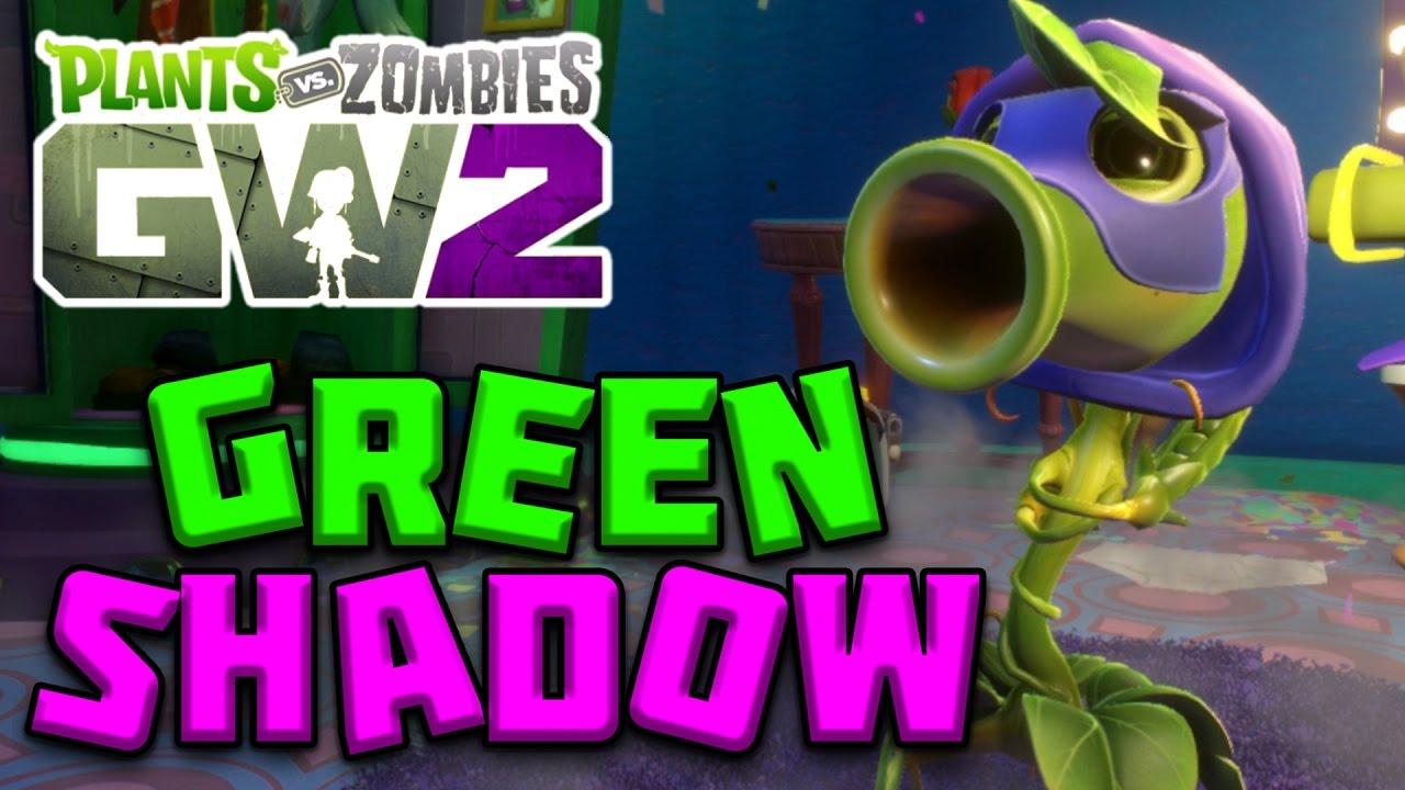 Playing As Green Shadow Plants Vs Zombies Garden Warfare 2 Youtube