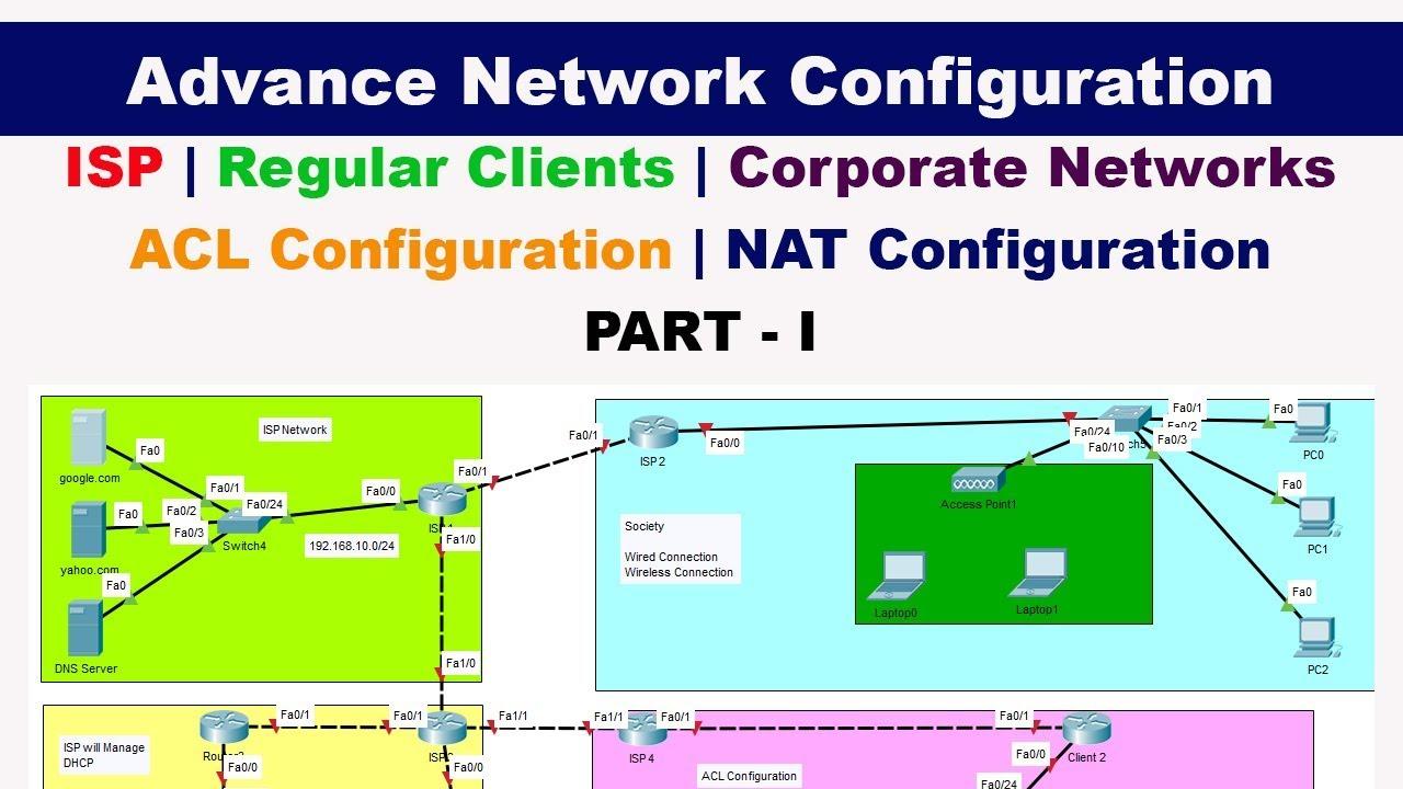 Repeat Advance Network Configuration | ISP | Corporate