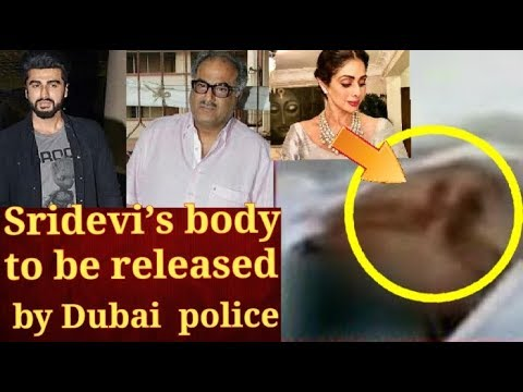 Sridevi's body to be released for embalming after Dubai Police issue permit