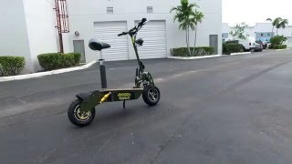 2106 Hyper racing lithium 2000w scooter