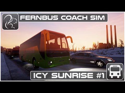 Fernbus Gameplay - Icy Sunrise - Part #1