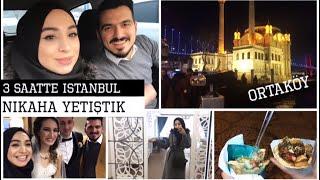 3 SAATE İSTANBUL - NİKAHA YETİŞTİK - ORTAKÖY WAFFLE | #herşeyaşkla