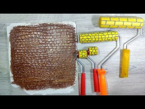 видео: Как сделать декоративный валик для шпаклевки. Декор своими руками