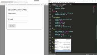 Diseño de formularios   HTML + CSS