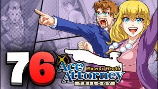Phoenix Wright Ace Attorney Trilogy HD - Part 76 Farewell My Turnabout FINALE (Switch)